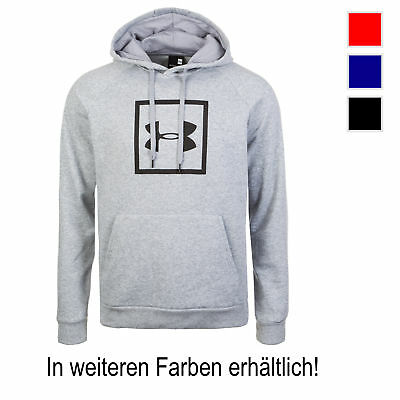Under Armour ColdGear Rival Fleece Logo Kapuzenpullover Herren NEU