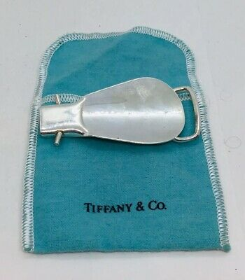 Tiffany & Co. Sterling Silver Folding Travel Shoehorn