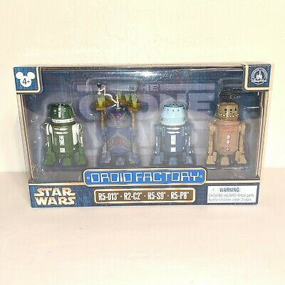Disney Parks Exclusive, 4PACK DROID FACTORY STAR WARS THE CLONE WARS, New
