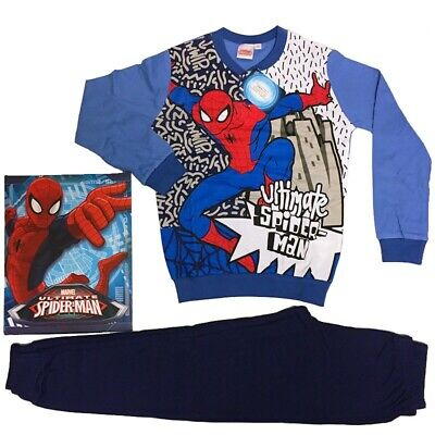 Pigiama invernale bimbo in cotone interlock SPIDERMAN art.MV16104