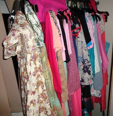Wholesale Job Lot Of Asian Clothing T Shirts Tops & Dresses 19 Items New £24.99