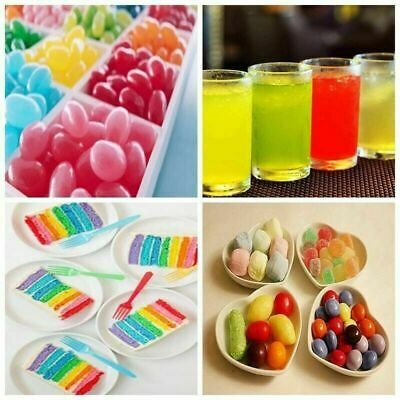 25g each 11 Food Colouring Powder Cake Colors Concentrated Water Soluble Colour