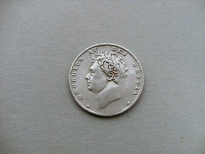 King George IV 1829? Silver Sixpence Coin. Reference Spink 3815.