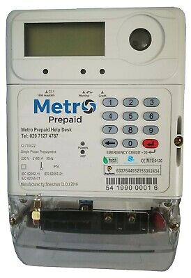 Metro Pre Paid Single Phase Meter - In Stock!!!