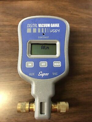 Supco VG64 Vacuum Gauge Digital Display