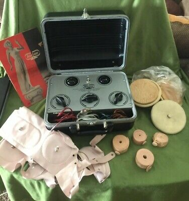 RelaxAcizor Electronic Hard Case Weight loss Muscle stimulator With Accessories