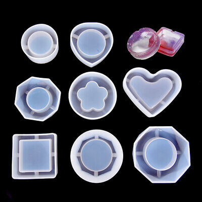 Silicone Mold Ashtray Epoxy Resin DIY Jewelry Making Mould Handmade Craft To ✔GB