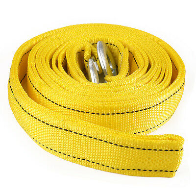 AUXMART Towing Strap 3 20 FT Heavy Duty Tow Strap 20000LBS Capacity Heavy Duty Vehicle Towing Winch Snatch Strap