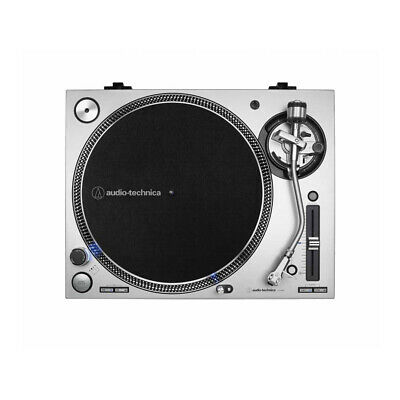 Audio Technica AT-LP140XP (Silver) Direct Drive Professional DJ Turntable