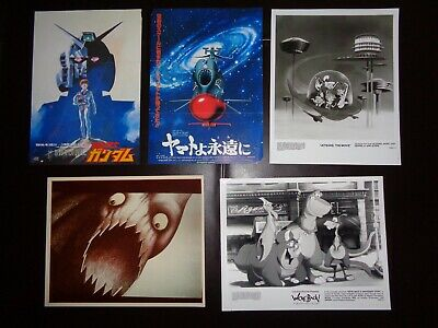 Animated Movie Photos Lot #4 (10) Mad Monster Party Gulliver Anime Jetsons Ads