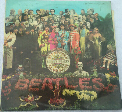 The Beatles, Sgt. Pepper's Lonely hearts Club Band vinyl LP, mono 1967