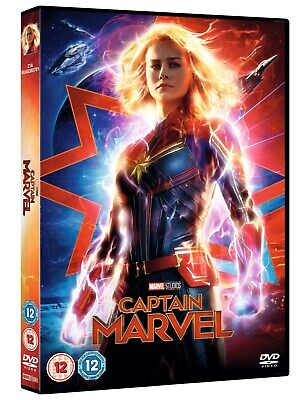 Captain Marvel DVD (2019)