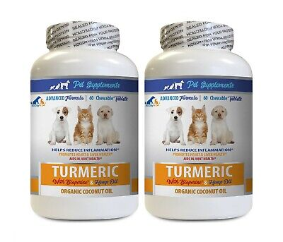 cat anxiety relief - DOG CAT COCONUT & TURMERIC - coconut for cats 2B