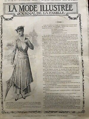 MODE ILLUSTREE SEWING PATTERN July 27,1915 - Dresses, blouses