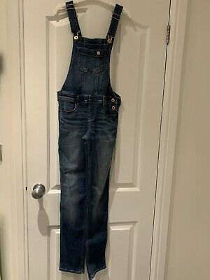 *Abercrombie Kids Girls Dungarees Jeans Age 11/12 Yrs*