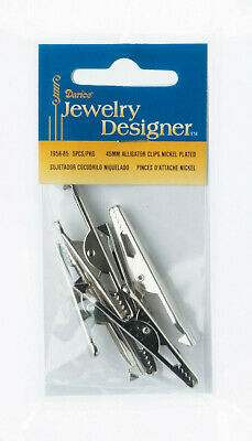 Darice Lot of 45mm Alligator Clips - (18 packs of 5 pieces)