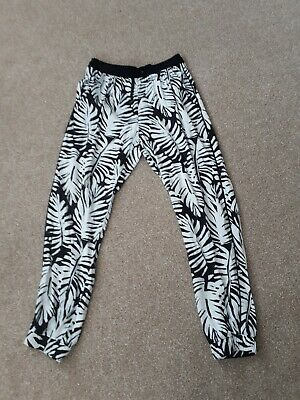 Girls patterned trousers - H&M 8-9 (eur 134)