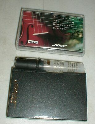 Bose Acoustic Wave Radio Demo Cassette Tape & SEALED Tape Head Cleaning System