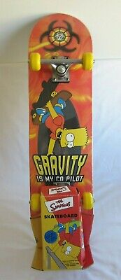 Simpsons Bart Sk8-O-Lux Skateboard 2002 Official Product Brand New Very Rare