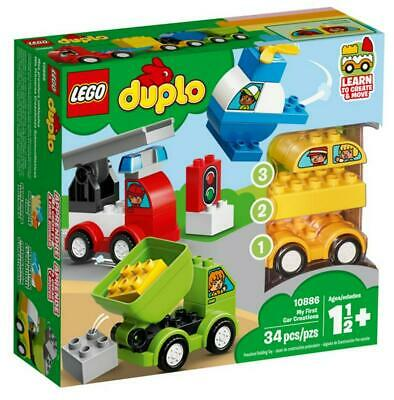 My First Car Creations - 10886 - LEGO(R) DUPLO(R) Free Shipping!