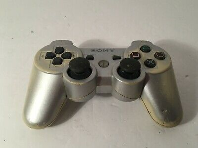💚 Original Sony PlayStation 3 Ps3 Dualshock Sixaxis Wireless Controller SILVER