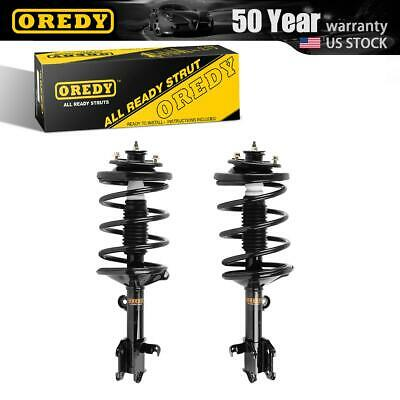 2x Quick Complete Strut Spring Assembly for 2008-2013 Toyota Highlander AWD Rear