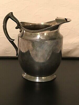 Antique Silverplate Water Pitcher Poole Silver Co EPCA 1023A