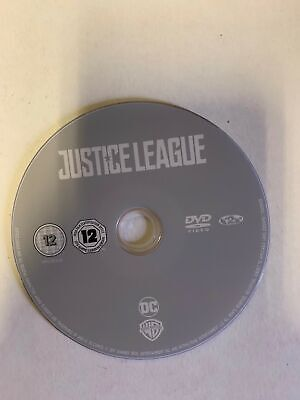 Justice League [2018][DVD Disc Only]