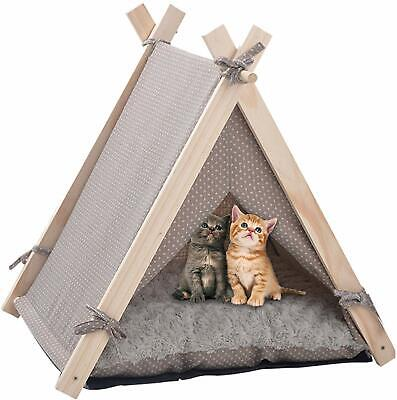 PLAYDOPet Dog Cat Play House Portable Washable Bed Lace Puppy Kitten Kennel Tent
