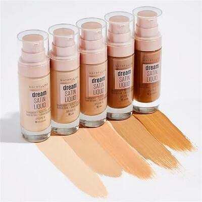 Maybelline Dream Satin Liquid Foundation 30mL - Choose Your Shade