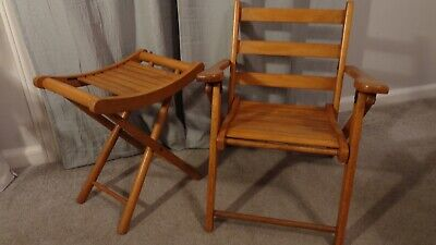 Stupendous Vintage Childrens Wooden Folding Chair By Nevco 30 00 Onthecornerstone Fun Painted Chair Ideas Images Onthecornerstoneorg