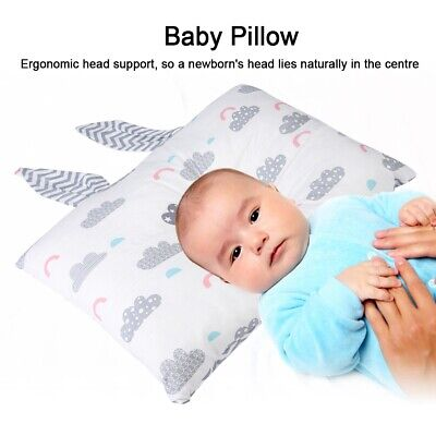 3 Style Luxury Nursery Baby Cot Bed Anti-Allergy Pillow Cotton Rabibit Ears Prot