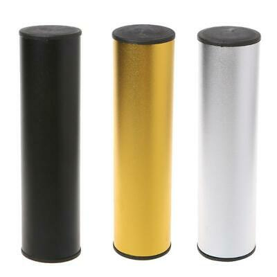 Pro Stainless Steel Cylinder Sand Shaker Rhythm Musical Instrument Percussion