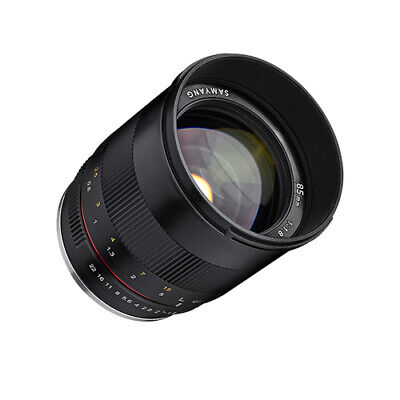 Samyang 85mm f/1.8 ED UMC CS Lens for Fuji X NIB