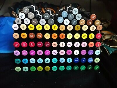 Spectrum noir alcohol markers with stand