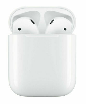 Apple AirPods 2nd Gen Bluetooth Headphones with Charging Case - MV7N2ZM/A