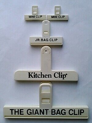 5-Piece Assorted Size Food Bag Clips
