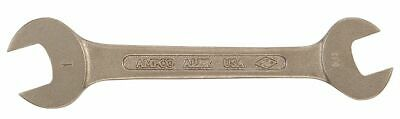 """Ampco 11/16"""" x 25/32"""" Double Open End Wrench, SAE, Natural - WO-11/16X25/32"""