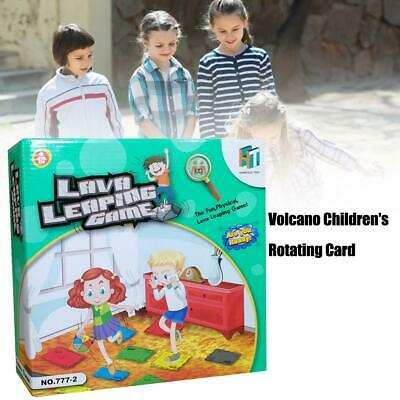 Novative Volcano Children's Rotating Card Game Card Family Party Kids Board Game