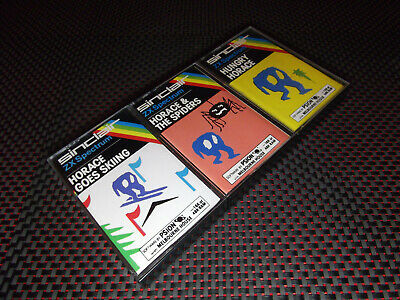 HORACE BUNDLE (SCC) by PSION for SINCLAIR ZX SPECTRUM (SPIDERS HUNGRY SKIING)