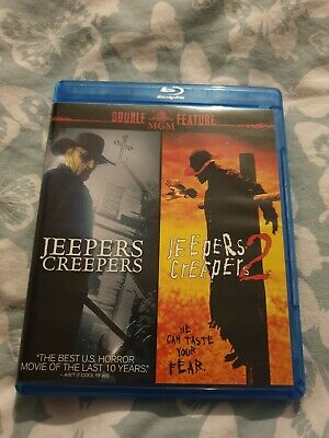 Jeepers Creepers (2001) & Jeepers Creepers 2 (2003) MGM Region A Blu-Ray