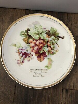 Antique Advertising Plate Ensenberger Furniture Store Bloomington IL Early 1900s