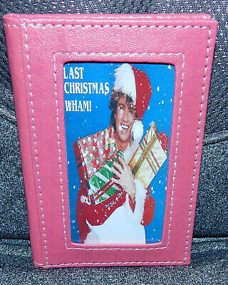 George Michael/Wham Last Christmas 2020 Pocket Diary. New & Sealed. Pink