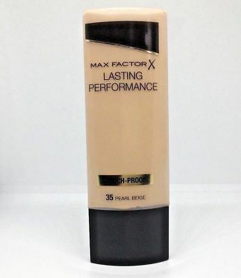 Max Factor Lasting Performance Foundation 35ml - pearl / beige #35 - New