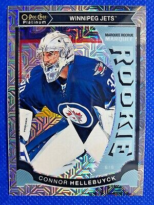 2015-16 O-Pee-Chee Platinum Marquee Rookies Traxx #M36 Connor Hellebuyck