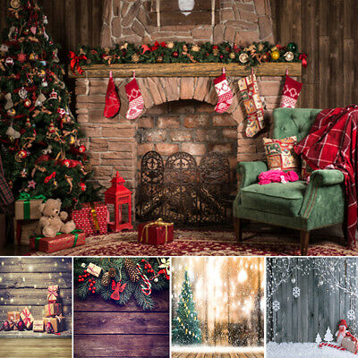 Christmas Photography Backdrops Winter Snow Baby Newborn Photo Booth Backgrounds