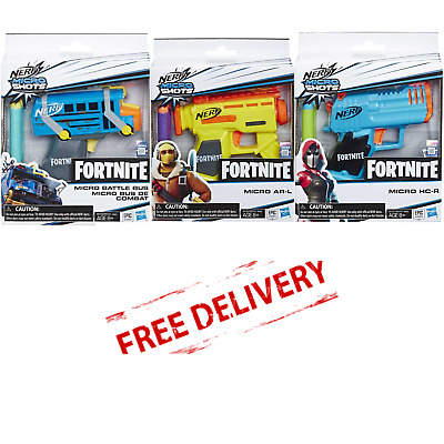 Nerf Elite Darts Gun Fortnite Microshots Blaster Kids Pistol Collectible Toys