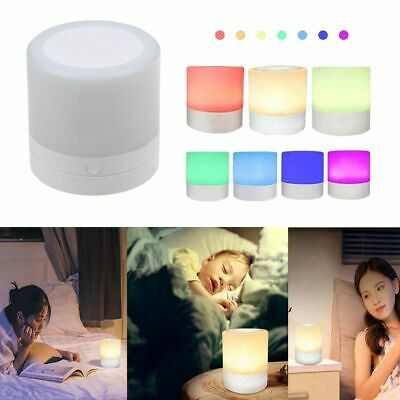 Rechargeable Led Touch Night Light Innovative Small Night Lamp Bedside Lamp