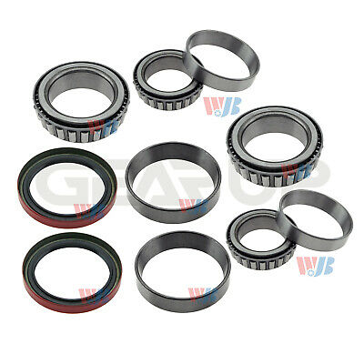 8USAUTO Front Left /& Right Wheel Bearing with Seal Kit Fit Ford Ranger 4WD 1983 1984 1985 1986 1987 1988 1989