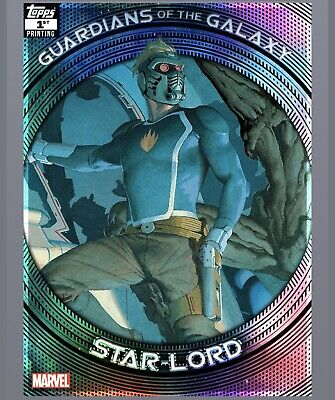 Topps Marvel Collect Star Lord Guardians Of The Galaxy 1st Print Award Digital